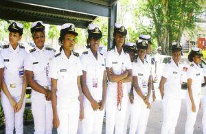 female cadets