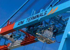 a crane and transport